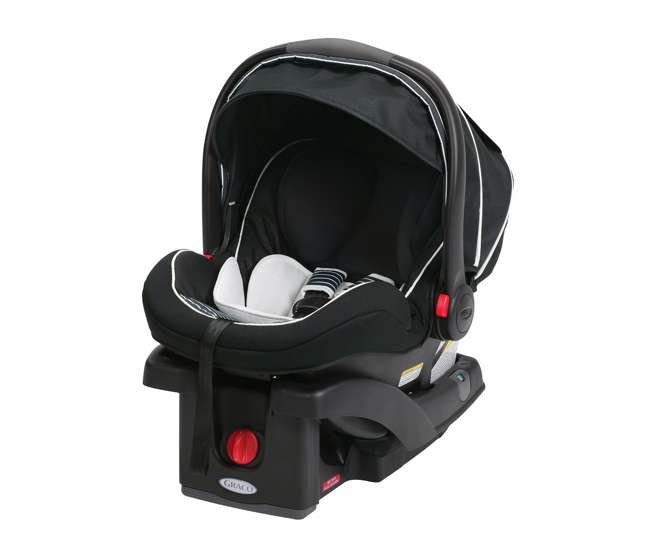 graco snugrride click connect lx infant car seat base black 1855603. Black Bedroom Furniture Sets. Home Design Ideas