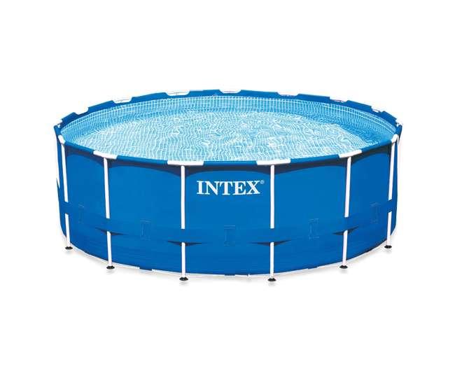 Intex 15 Feet X 48 Inches Metal Frame Pool Set 28235eg