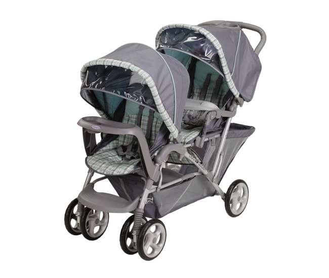 6L12WSH3 Graco DuoGlider LX Double Stroller (Wilshire) | 6L12WSH3