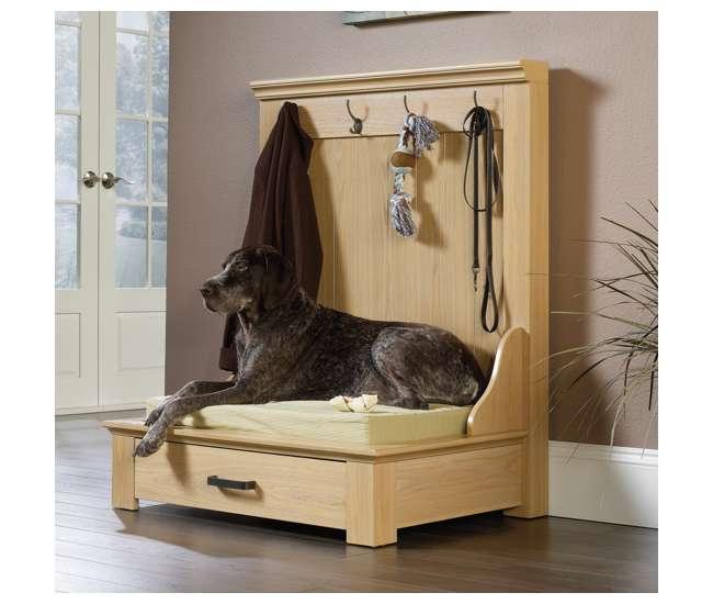 SF-417200 Sauder Furniture Home Entryway Hanger Cushion Dog Bed | 417200