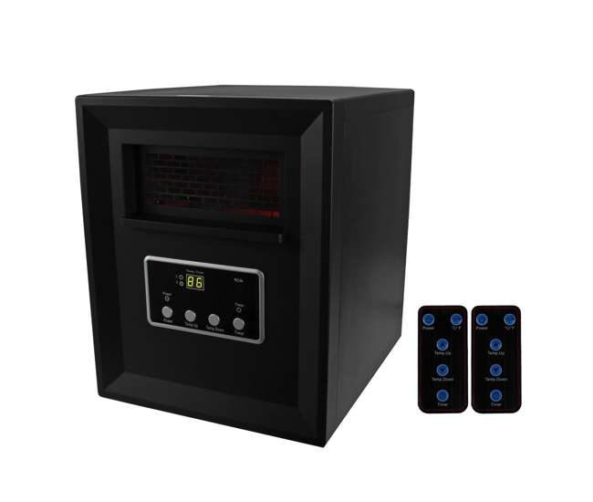LS-1002HHLifeSmart 4 Element Infrared Quartz Space Heater