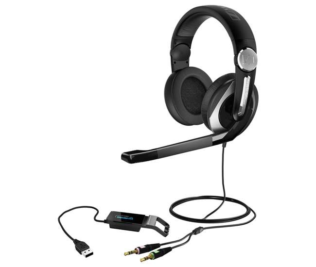 PC333D Sennheiser PC 333D PC Gaming Headset with 7.1 Channel Surround Sound