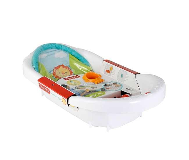 3 x CHP84 Fisher Price Go Wild Baby Bathtub (3 Pack)