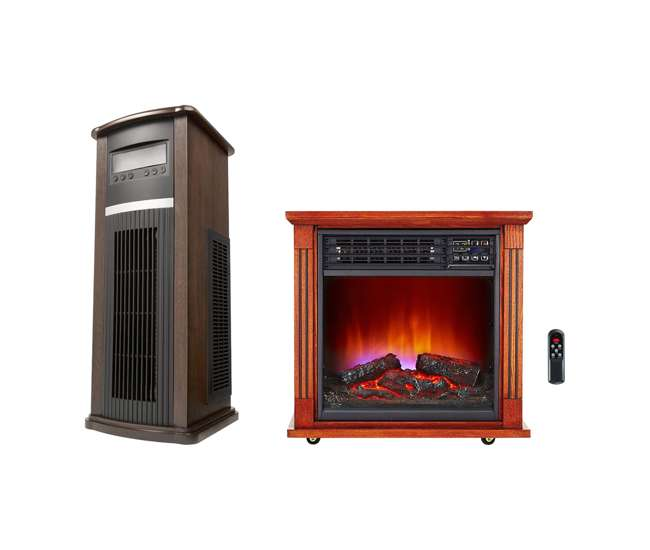 Haier Infrared Tower Heater Fireplace Infrared Zone Heater Hhtf15cpcv Hhf15cpc