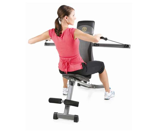 GGBE1968GOLD'S GYM GGBE1968 XRS Slant Bench with Adjustable Arms