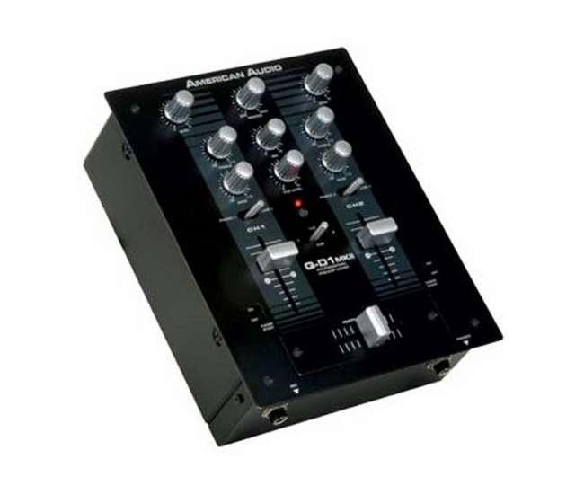 Q-D1 MKIIAMERICAN AUDIO Q-D1 MKII PRO DJ PA Rack Mount Mixer