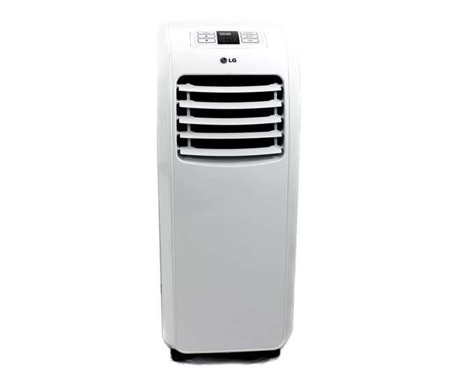 lg lp0710 7 000 btu home portable air conditioner refurbished lp0710 rb. Black Bedroom Furniture Sets. Home Design Ideas
