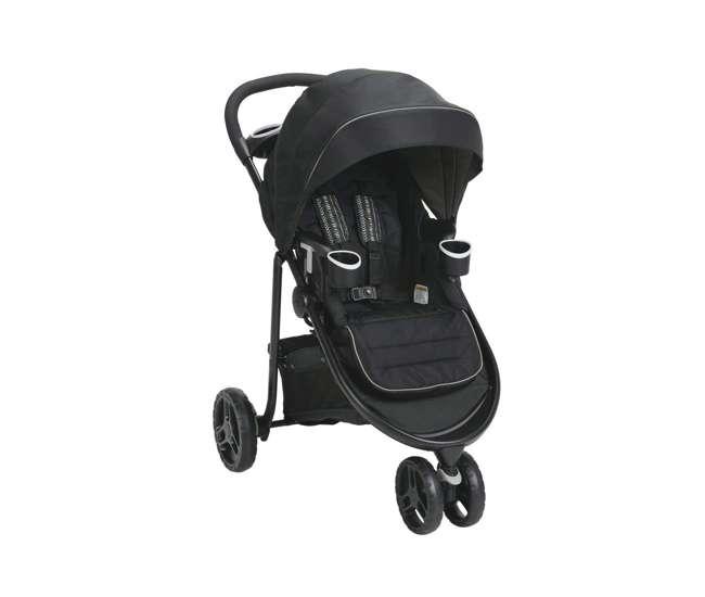 2048704-U-A Graco Modes 3 Lite Click Connect Convertible Baby Stroller (Open Box)