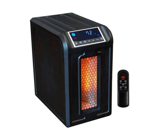 LS-ZCHT1061US-2LifeSmart LifePro Low Profile 800 Sq Ft Infrared Quartz Heater | LS-3ECO