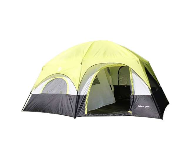 TGT-CORONADO-12 Tahoe Gear Coronado 12 Person Dome 3 Season Family Outdoor Camping Cabin Tent
