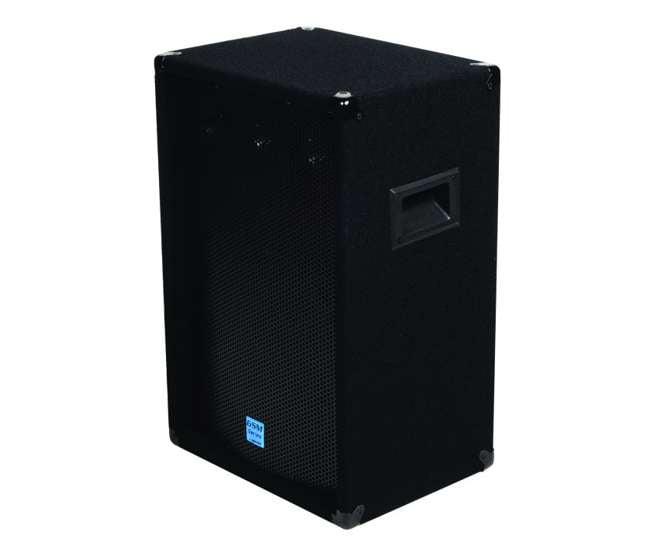 "GSM-1260 Gemini GSM1260 12"" 800W Pro DJ Stage Speakers w/ 3-Way Passive Crossovers (Pair)"