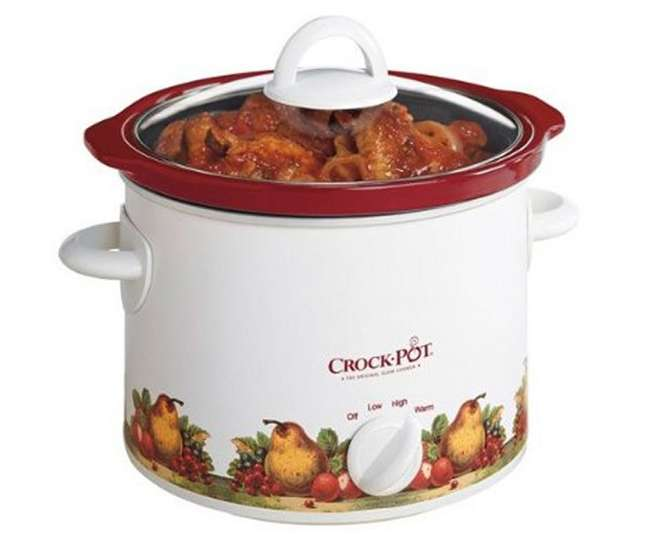 SCR300-R-NPCrock Pot 3-Quart Slow Cooker | SCR300-R