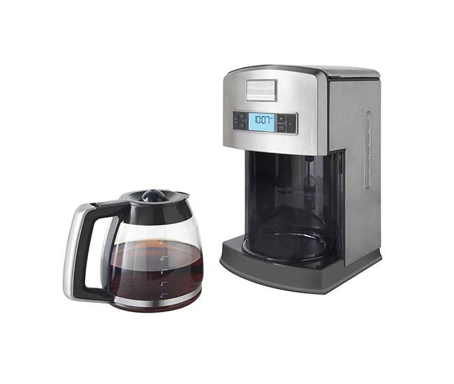 Drip Coffee Maker Stainless Steel : Frigidaire Professional 12-Cup Stainless Steel Drip Coffee Maker : FPAD12D7PS : VMInnovations.com