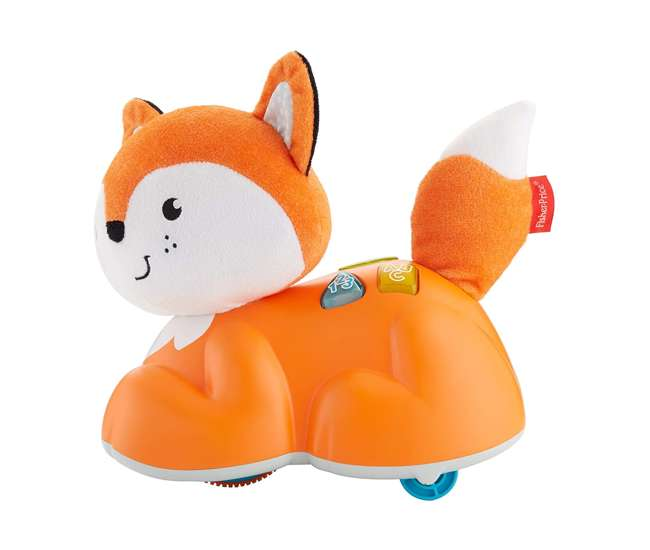 FYL35 Fisher Price Crawl After Learning Fox with Lights & Sounds for Infant to Toddler