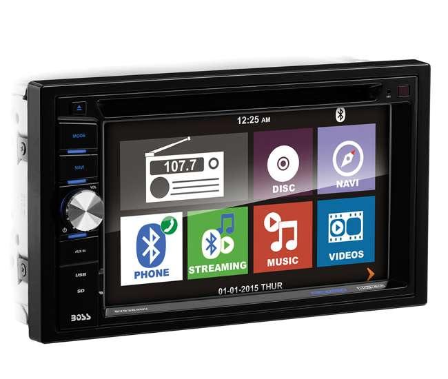 "Boss Bv9538b Double Din Bluetooth Dvd Car Stereo Receiver: Boss BVNV9384RC 6.2"" TOUCHSCREEN Car CD/DVD Player"
