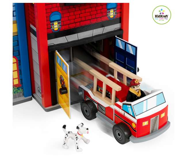 63239 KidKraft Everyday Heroes Police & Fire Set