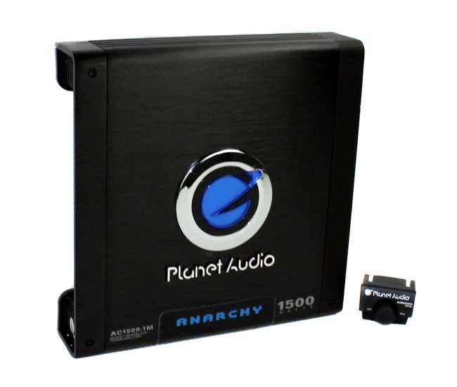 AC15001MPlanet Audio AC1500.1 1500 Watt Monoblock Amplifier