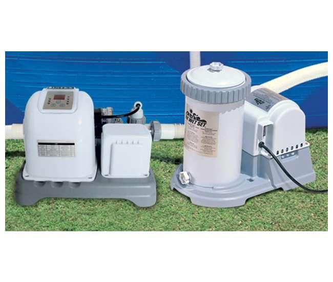 intex 2500 gph filter pump krystal clear saltwater pool chlorinator with gfci 28633eg. Black Bedroom Furniture Sets. Home Design Ideas