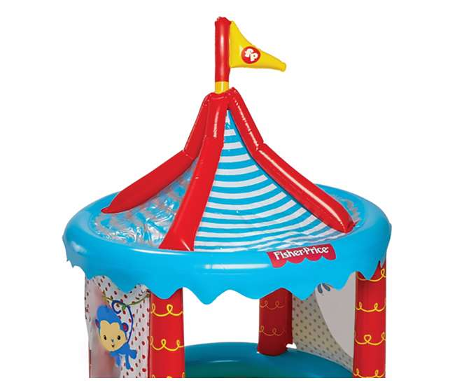 Fisher price circus ball pit 93505e bw for Ball pits near me