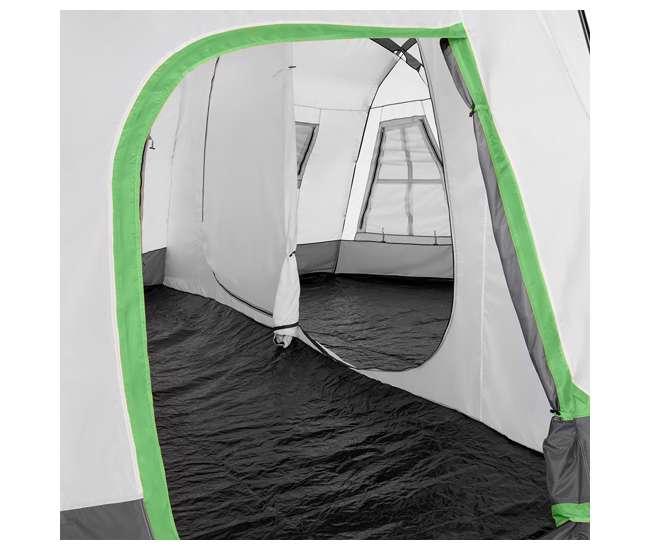 TGT-OZARK-16-C-U-D Tahoe Gear Ozark 16 Person 3 Season Family Cabin Tent, Beige (Damaged)
