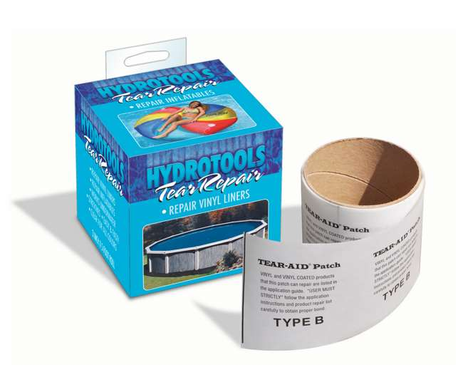 Swimline Tear Aid Underwater Vinyl Liner Repair Tape 8850