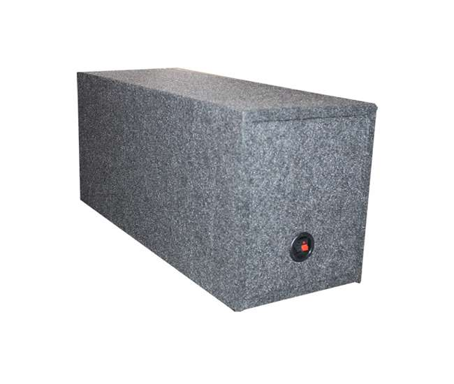 43C124 + VM12SEALED + AR1500M + AKS8 Kicker 43C124 600W 12-Inch Subwoofers with Sealed Box Enclosure with Amp with Wiring (Pair)