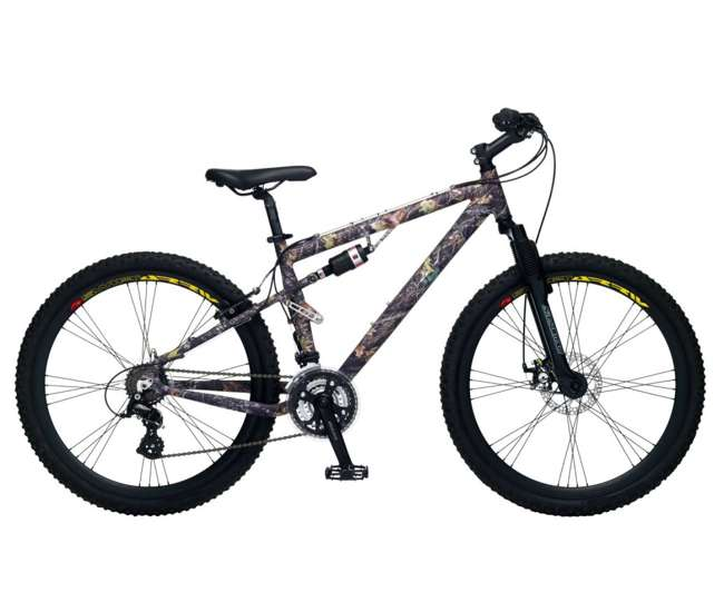 R4992 Mossy Oak 26-Inch Men's Mountain Hunter Mountain Bike