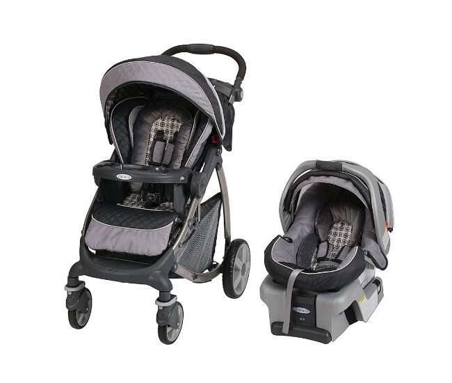Graco Stylus Baby Stroller Amp Snugride 30 Infant Seat
