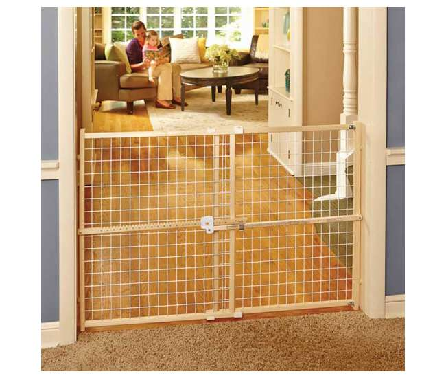 4665 North States Quick-Fit Wire Mesh Gate