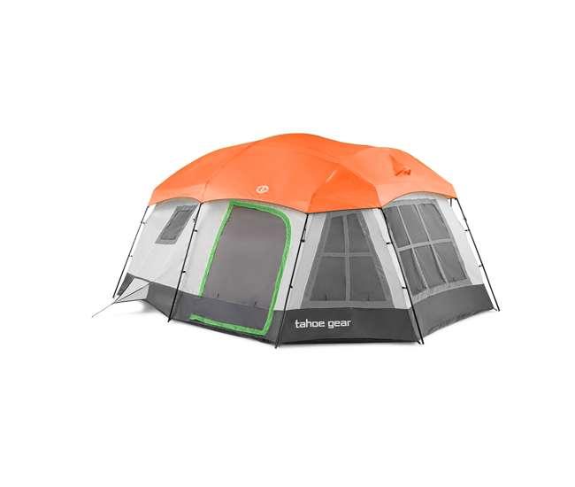 TGT-OZARK-16-C Tahoe Gear Ozark TGT-OZARK-16-C 16 Person 3 Season Family Cabin Tent, Beige