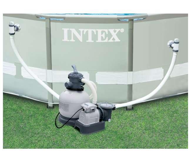 Intex Sand Filter Krystal Klear 1600 Gph Pool Pump 56673eg