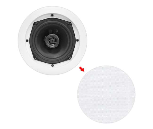 8) Pyle Pro PDIC61RD 6.5'' 400W 2-Way In-Ceiling/Wall