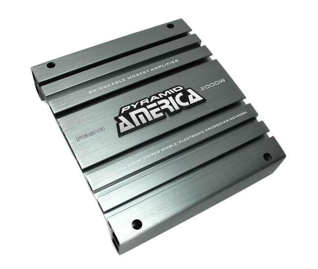 HFX12D4 + PB918 + VM12SEALED + AKS8 Hifonics 12-Inch Subwoofer w/ Amplifier, Sealed Sub Box Enclosure, & Wiring Kit