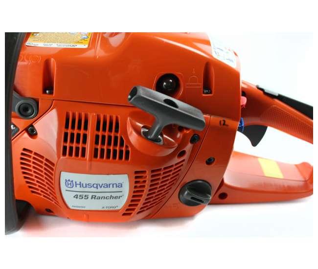 455R-20-BRC-RBHUSQVARNA 455R Rancher 20-Inch 56cc Gas Powered Chainsaw (Refurbished)