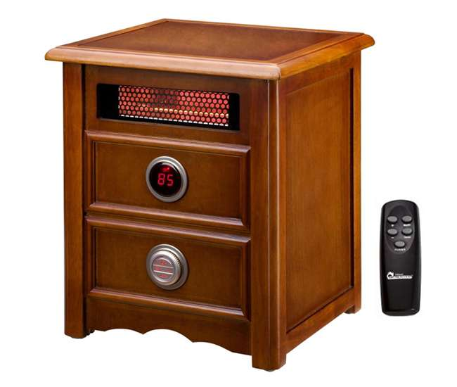 DR-999Dr. Heater 1500W Nightstand Heater with Remote