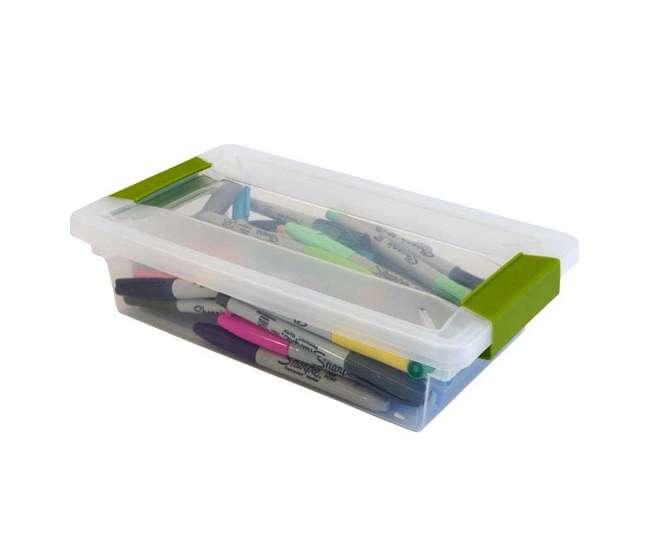 6 x 19618606 Sterilite Small Clip Box (6 Pack)