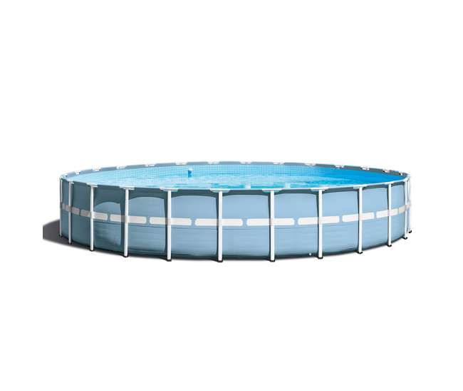 Intex 24 feet x 52 inches prism frame pool set 28761eh - Intex prism frame ...