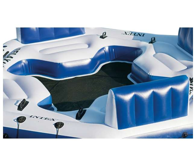 Relaxation Station Pool Lounge: Intex Pacific Paradise Relaxation Station, Blue : 58297EP