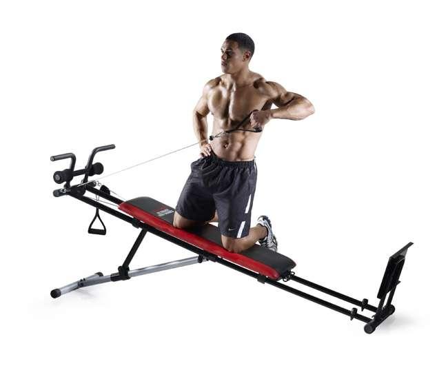 total bodyworks 5000 exercise chart pdf