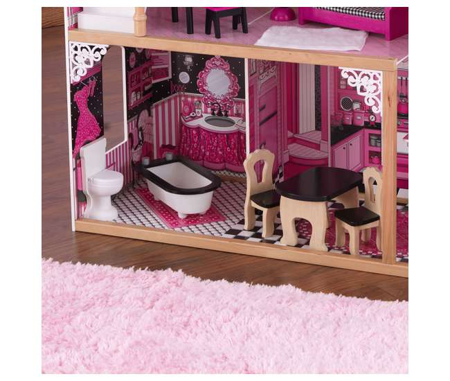 Kidkraft Wooden Amelia Dollhouse With Furniture 65093