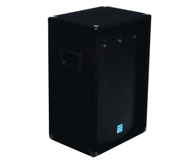 "GSM-1260Gemini GSM1260 12"" 800W Pro DJ Stage Speakers w/ 3-Way Passive Crossovers (Pair)"