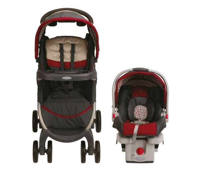 1843903Graco FastAction Baby Stroller & SnugRide Infant Seat Travel System | 1843903