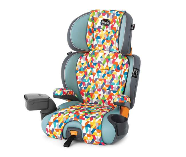 chicco kidfit zip booster seat wild chi 407948589. Black Bedroom Furniture Sets. Home Design Ideas