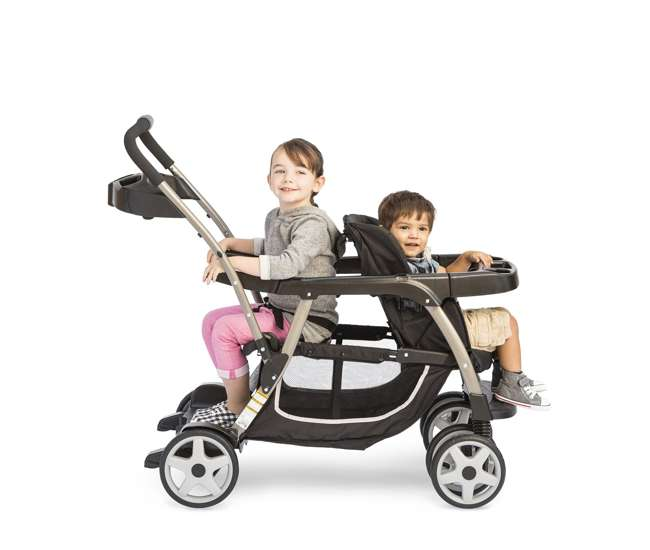 Graco Ready2Grow Click Connect LX Double Baby Stroller ...
