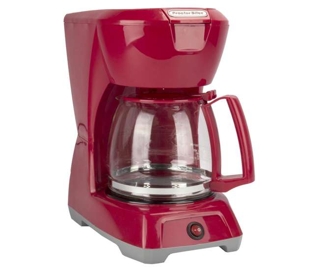 Proctor Silex 43603 12-Cup Coffee Maker Red : VMInnovations.com