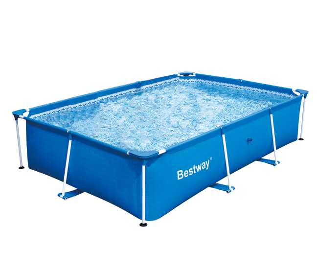 bestway inflatable 3300l deluxe splash frame pool 56043us 56043e. Black Bedroom Furniture Sets. Home Design Ideas