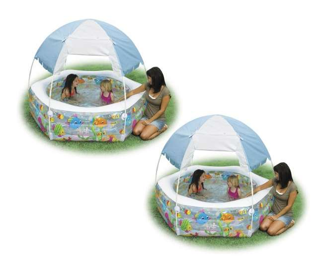 57493E Intex Ocean Reef Inflatable Pool (Pair)