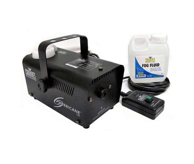 H700Chauvet DJ Hurricane 700 Fog Machine (2 Pack)