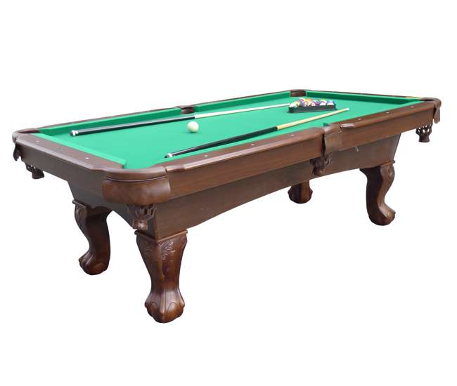Medal sports springdale 7 5 ft billiard pool table with for 10 foot pool table