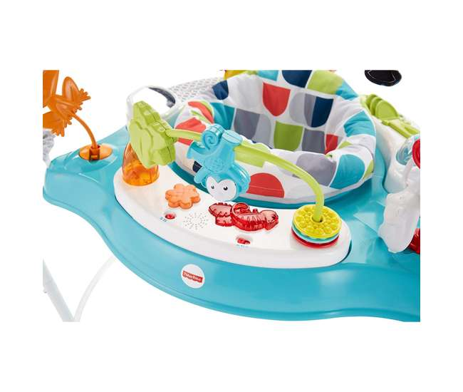 FVC13 Fisher-Price Color Climbers Jumperoo Home Baby Toy Activity Entertaining Bouncer